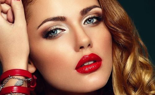 maquiagem-com-batom-vermelho-2