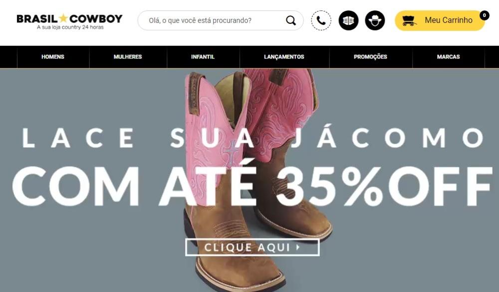 Brasil Cowboy – Botas Femininas  92c2428bce5